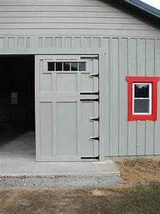 How to build Barn or Garage Swing out Doors - YouTube