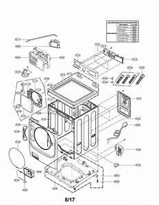 Lg Wm8100hva Door Boot Seal-gasket