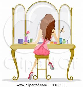 Girl Getting Ready Clipart (18+)