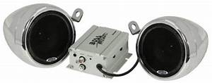 Boss Audio Mc400 Motorcycle  Utv Speaker And Amplifier