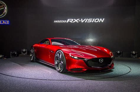 Mazda Rx-vision Rotary-engined Sports Car Concept Revealed