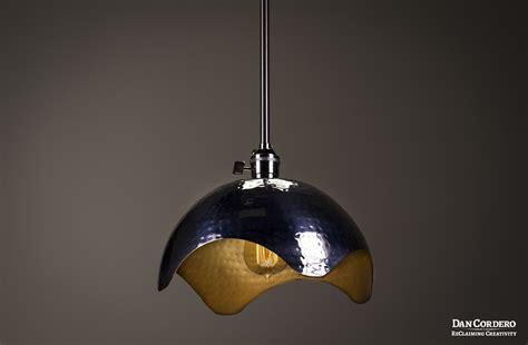 brushed gold light fixture hammered gold brushed nickel edison bulb pendant light