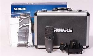 Shure Pg42 Condenser Microphone W  Shockmount  Case   U0026