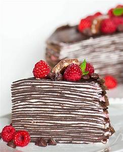 Chocolate Raspberry Crepe Cake Tatyanas Everyday Food