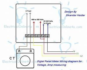 120 Volt Electric Meter Diagram