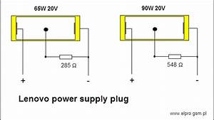 Lenovo Power Supply Plug Configuration