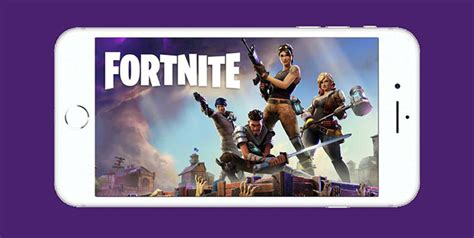 fortnite battle royale mobile reveal trailer ios signups open