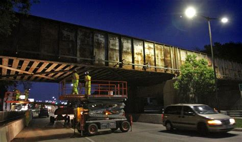 not shabby west allis west allis painting shabby railroad bridge over greenfield avenue