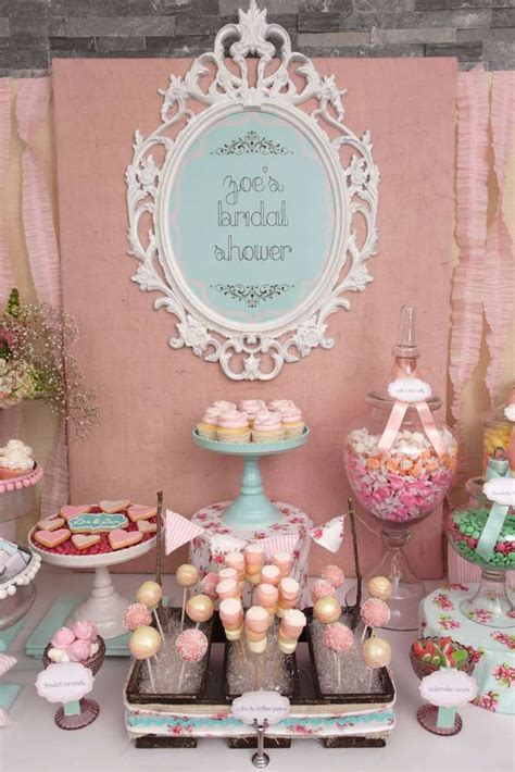 vintage shabby chic wedding shower ideas vintage shabby chic bridal wedding shower party ideas candy bars bar and shabby