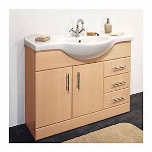 meuble lavabo salle de bain pas cher atlubcom With lavabo et meuble