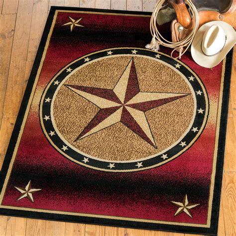 Southwest Rugs: 2 x 3 Ombre Star Rug Lone Star Western Decor