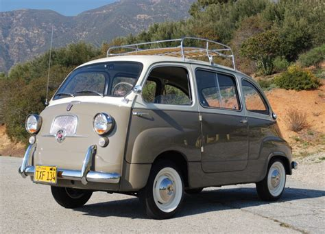 Fiat Multipla For Sale by 1959 Fiat 600 Multipla For Sale On Bat Auctions Closed