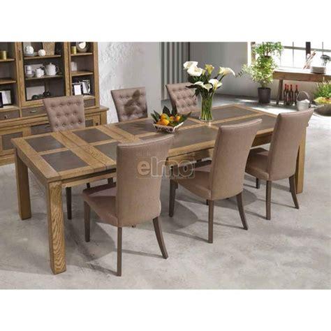 table cuisine ceramique table salle à manger chêne massif pieds bois plateau