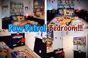 PAW PATROL BEDROOM!! Decor & Money Saving Ideas!! - YouTube