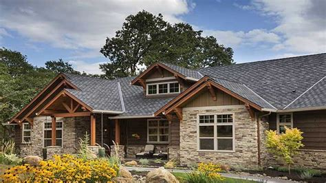 style home plans rustic craftsman ranch house plans ranch house makeovers