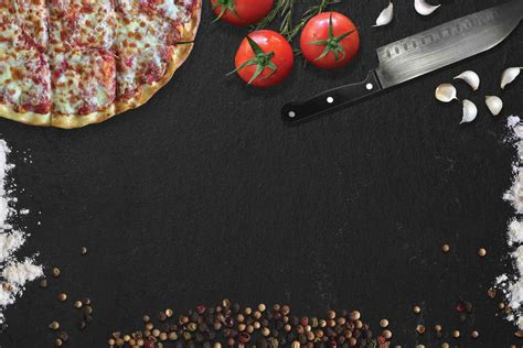 american realism gourmet dining tomato pizza ingredients