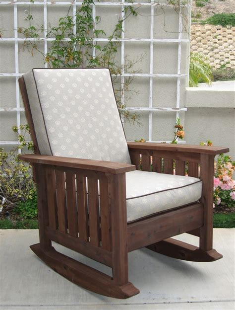 best 25 craftsman outdoor rocking chairs ideas on