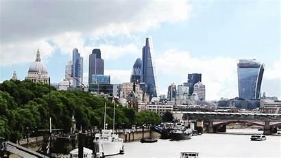 Skyline Skyscraper London Bishopsgate Change Animated Wrecked