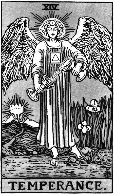 Temperance Art and Meaning: Queen of Tarot