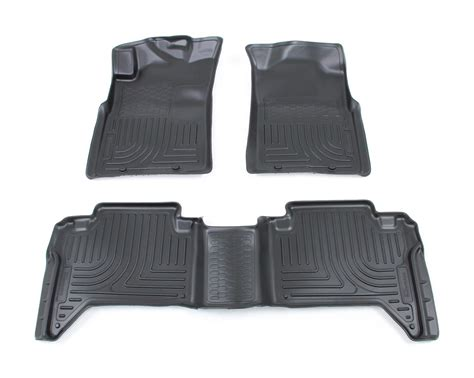 floor mats toyota floor mats by husky liners for 2013 tacoma hl98951