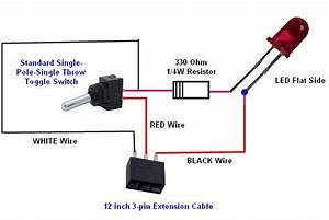 Wiring Diagram For Led Toggle Switch