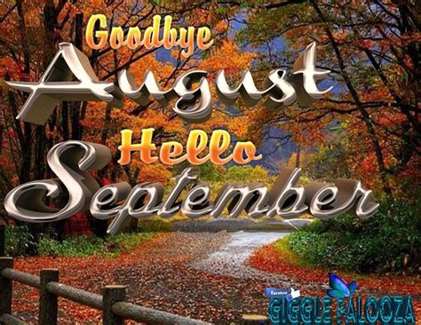 Autumn Goodbye August, Hello September Image Pictures, Photos, and Images for Facebook, Tumblr ...