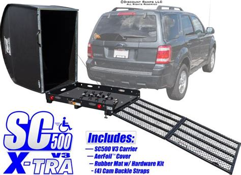 power wheelchair carrier kit life s just better on
