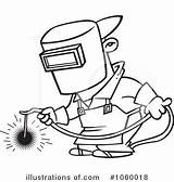 Welder Clipart Drawing Weld Cartoon Illustration Royalty Line Welding Toonaday Rf Leishman Ron Clipground Sample Getdrawings Illustrationsof sketch template
