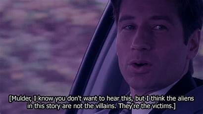 David Duchovny Mulder Aliens Believe Want Scully