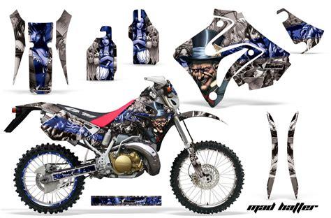 mad for motocross honda crm 250 ar motocross mx graphic kit 1989 1999