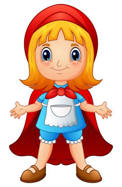 Cartoon Red Riding Hood