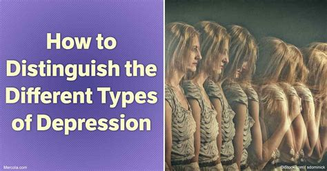 How To Distinguish The Different Types Of Depression