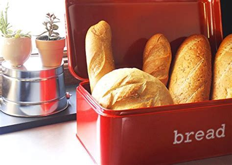 Bread Box for Kitchen Counter   Stainless Steel Bread Bin