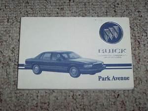 1993 Buick Park Avenue Sedan Owner Owner U0026 39 S Manual User