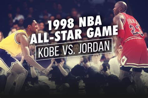 Revisiting Kobe Bryant's 1st All-Star Game vs. Michael ...