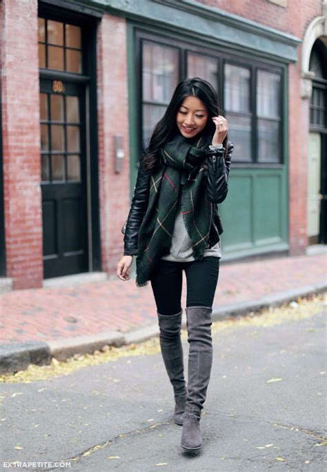 How Wear Over The Knee Boots Fall Just Design