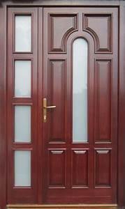unique, 60, modern, and, classic, wooden, main, door, design, ideas