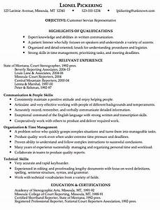 Combination resume sample customer service representative for Free resume examples for customer service