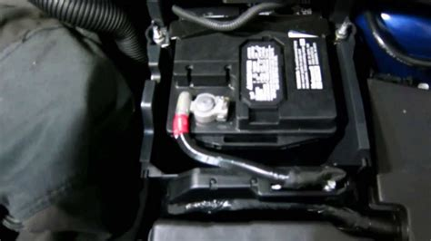 replace ford focus battery youtube