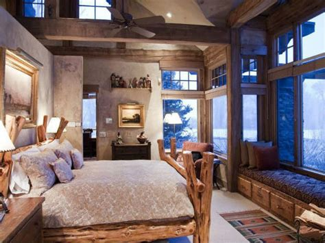 Rustic Bedrooms : 50 Rustic Bedroom Decorating Ideas
