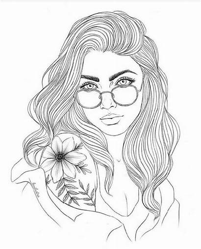 Coloring Pages Adult Printable Drawings Drawing Adults