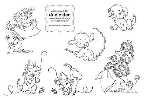 disegni della disney a punto croce schema di ricamo per bambini cagnolini arte ricamo