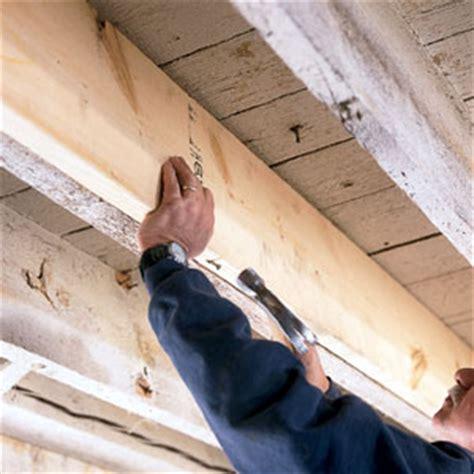 stiffening bouncy floors toh pro   house