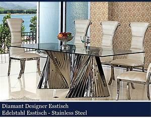 Designer Glastische Esszimmer : esszimmer glastisch design ~ Sanjose-hotels-ca.com Haus und Dekorationen