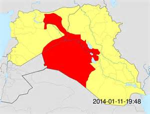 Isis Controlled Territories Map