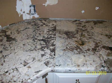 what should a granite seam look like nc