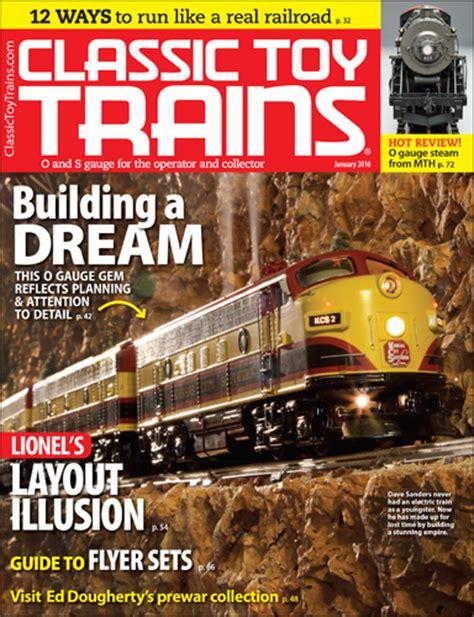 january  classic toy trains magazine