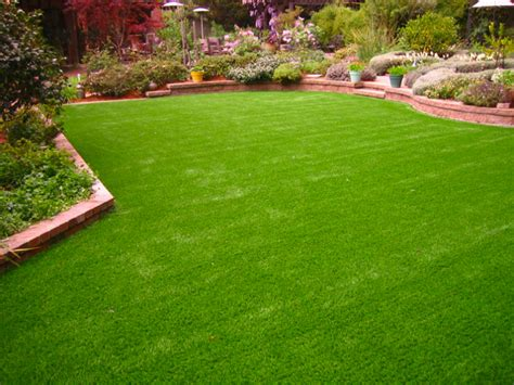artificial landscaping grass woodland california