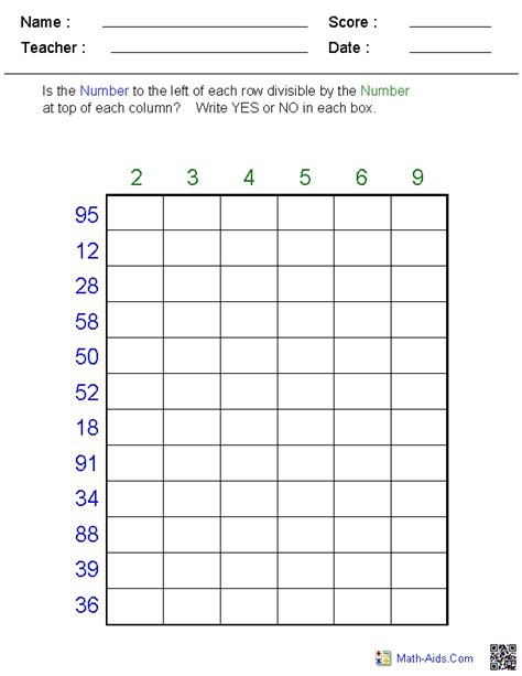 division rules worksheets division worksheets printable division worksheets for teachers