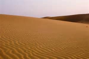 Sand Dunes Sunset